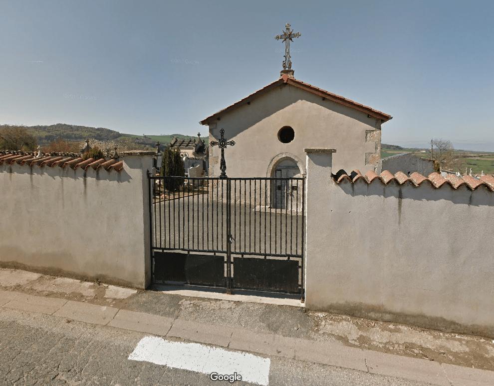cimetière communal rue 19 Route du Marronnier de Larajasse