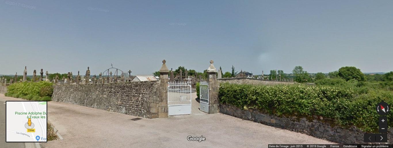 Cimetière d'Évaux-les-Bains