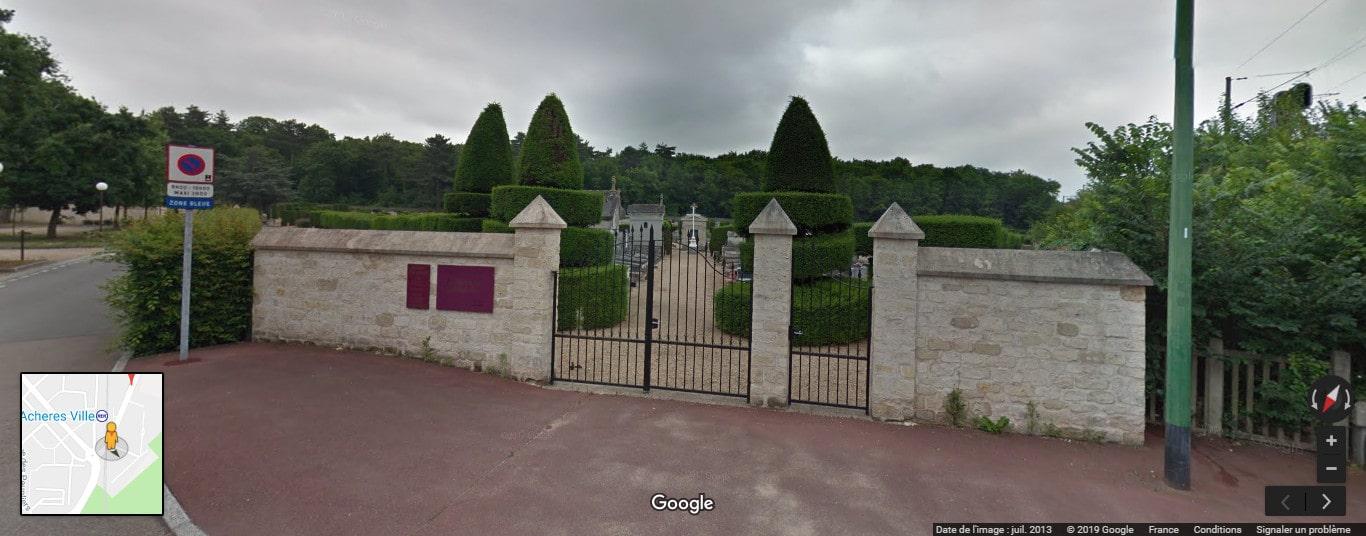 cimetière d'Achères