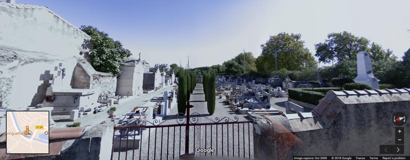 cimetière d'Argens-Minervois
