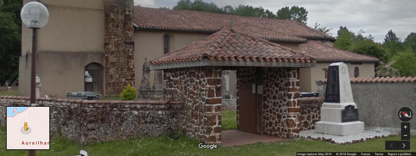 Cimetière d'Aureilhan