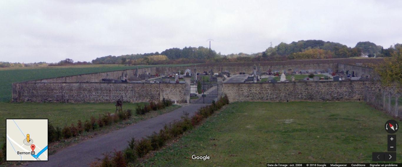 cimetière deBernon
