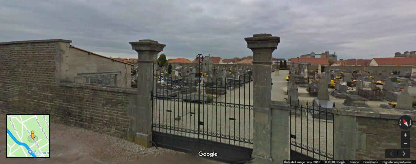 Cimetière deBrienne-le-Château