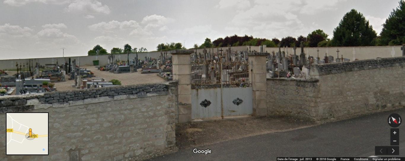 Cimetière deCoussay-les-Bois