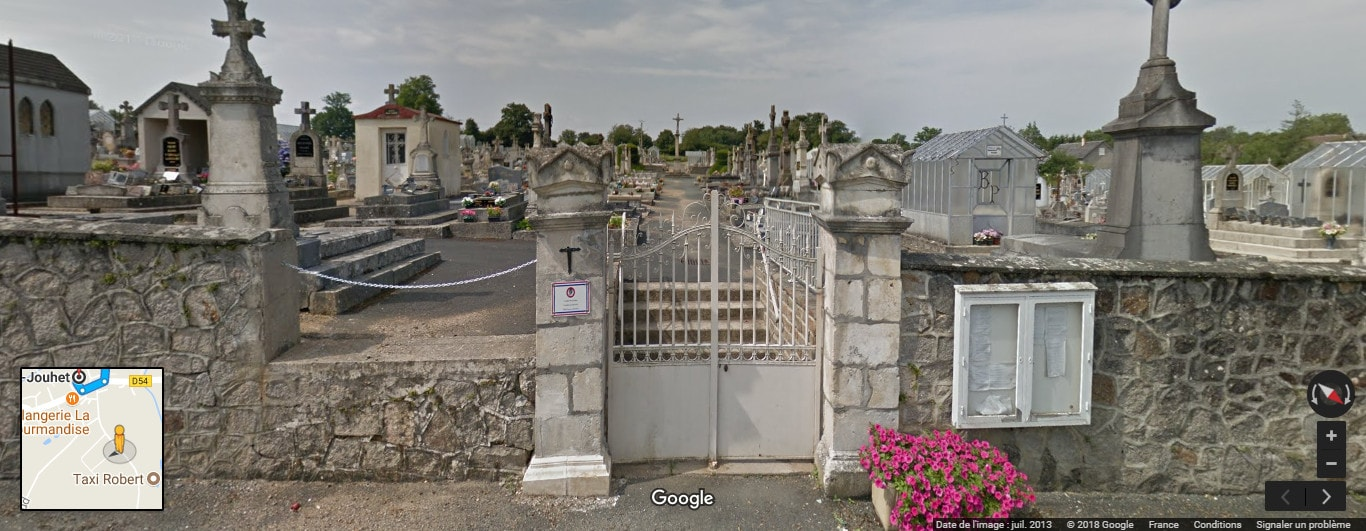 Cimetière deSaint-Denis-de-Jouhet