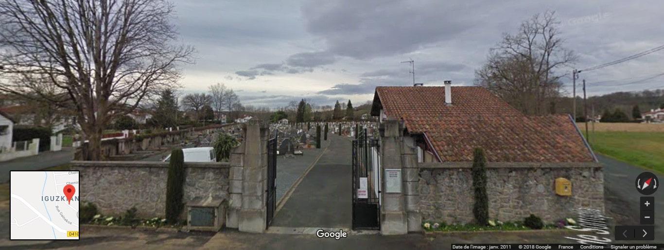 Cimetière de Cambo-les-Bains