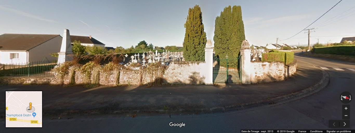 Cimetière de Champtocé-sur-Loire