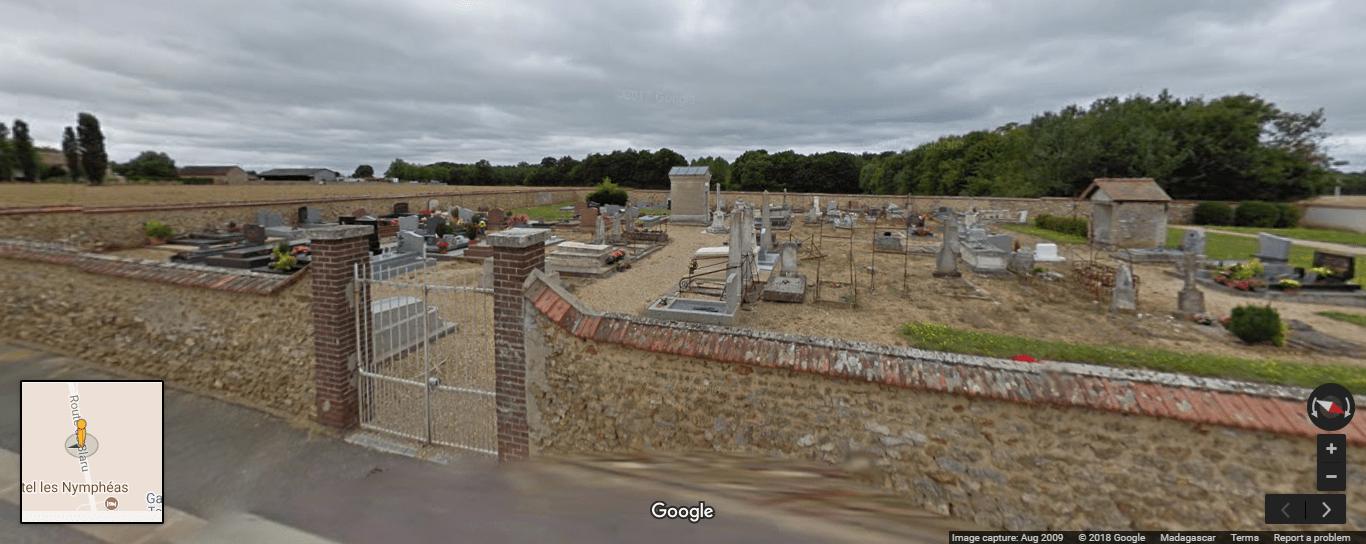 Cimetière de Chaufour-lès-Bonnières