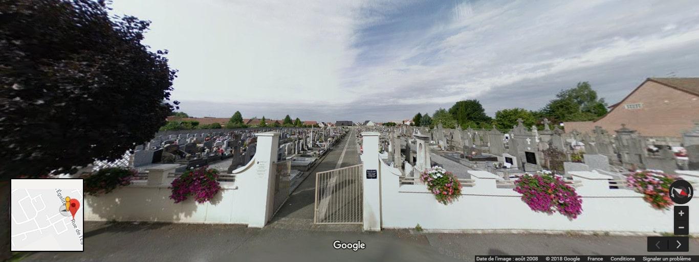 cimetière de Cuincy