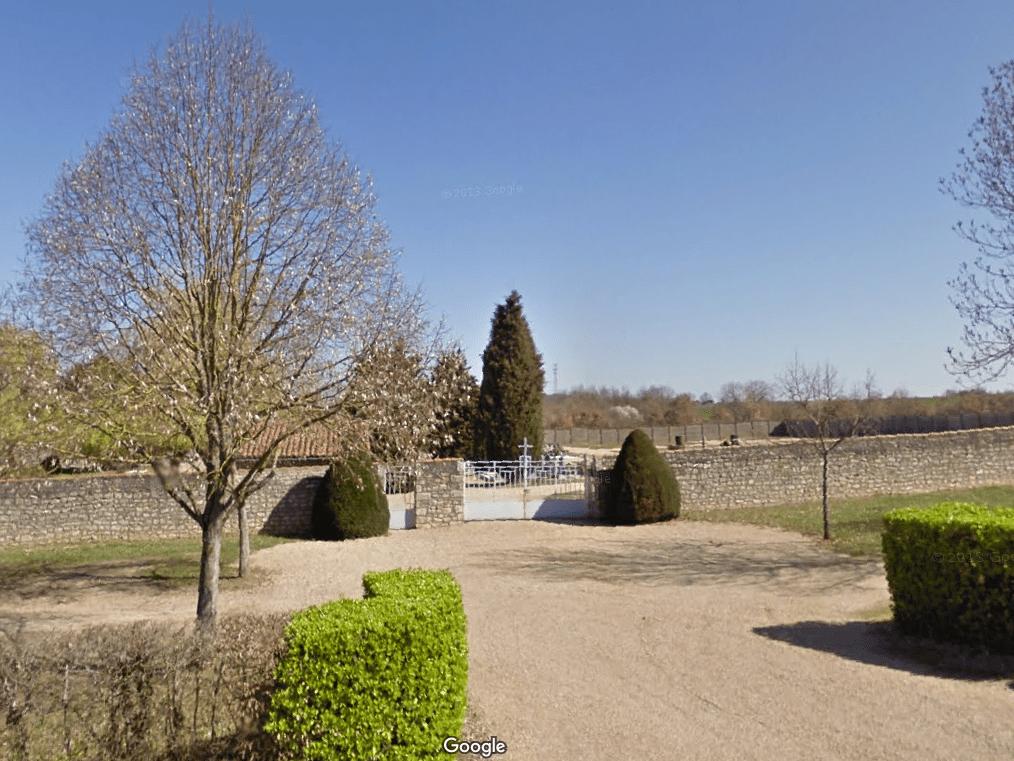 cimetière communal de Dissay
