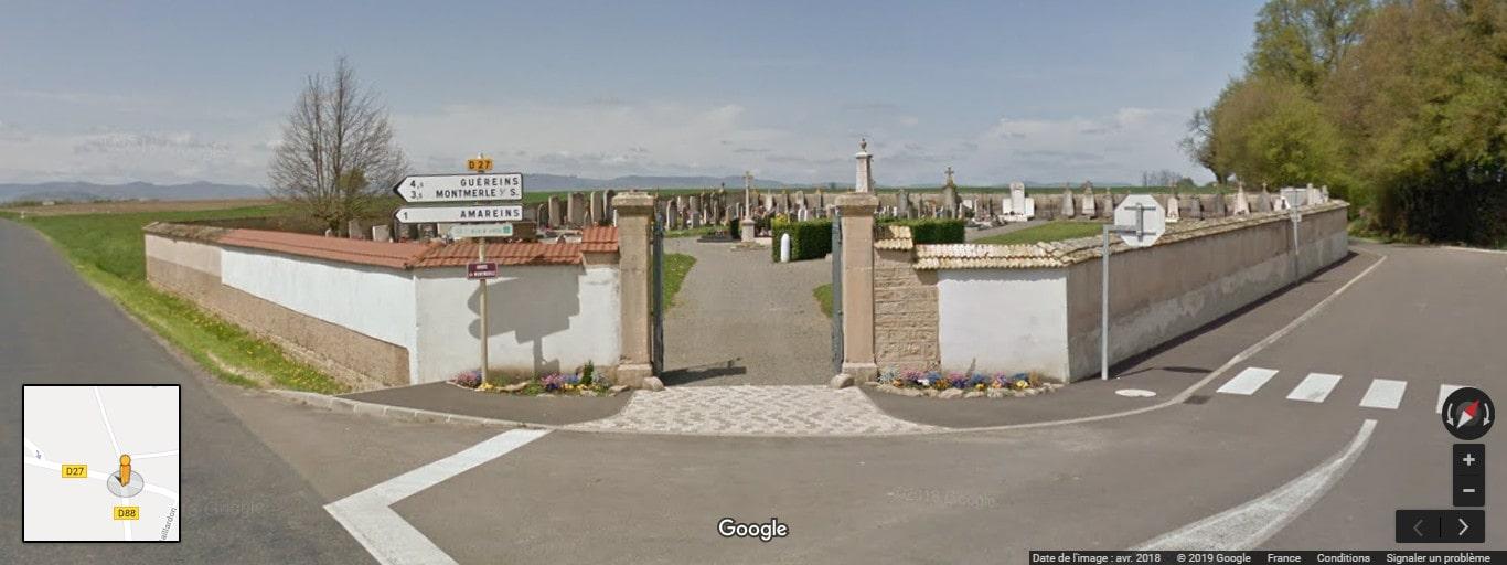 cimetière de Francheleins