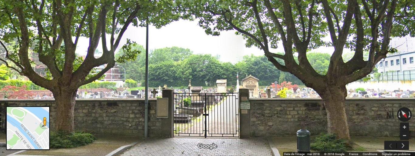 Cimetière de L'Île-Saint-Denis