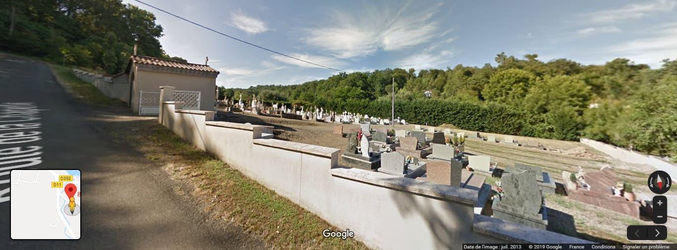 Cimetière de Larrivière-Saint-Savin