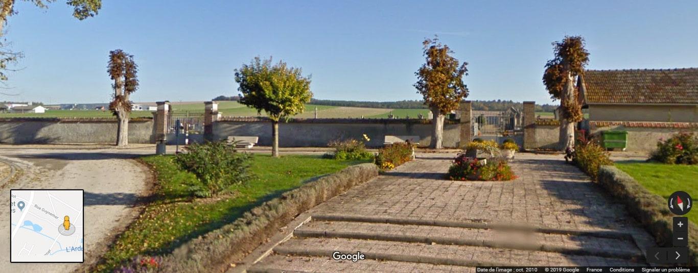 Cimetière de Marigny-le-Châtel