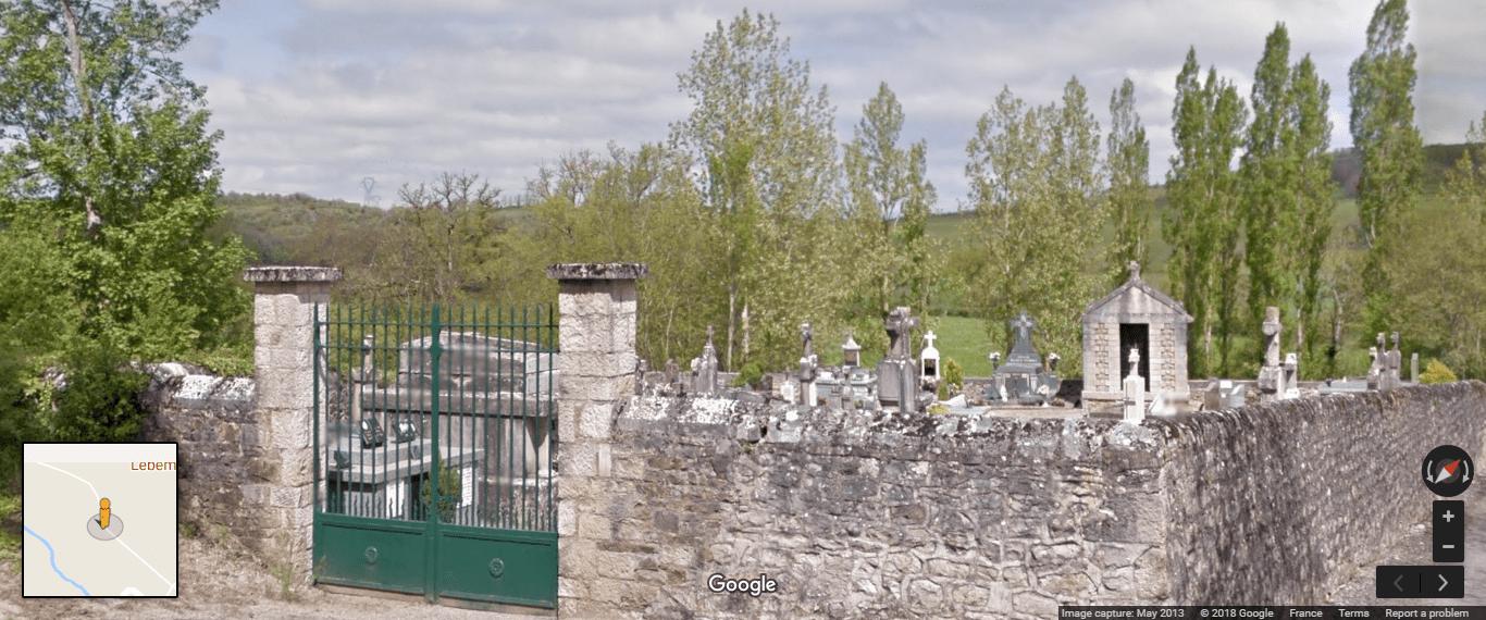 cimetière de Montrozier