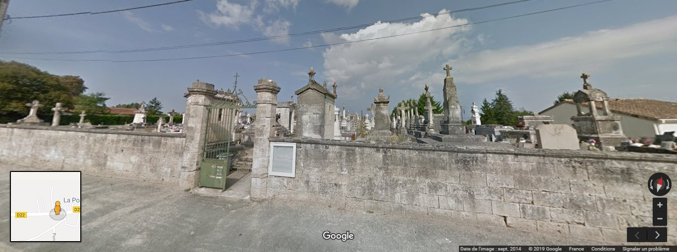 Cimetière de Saint-Christoly-de-Blaye
