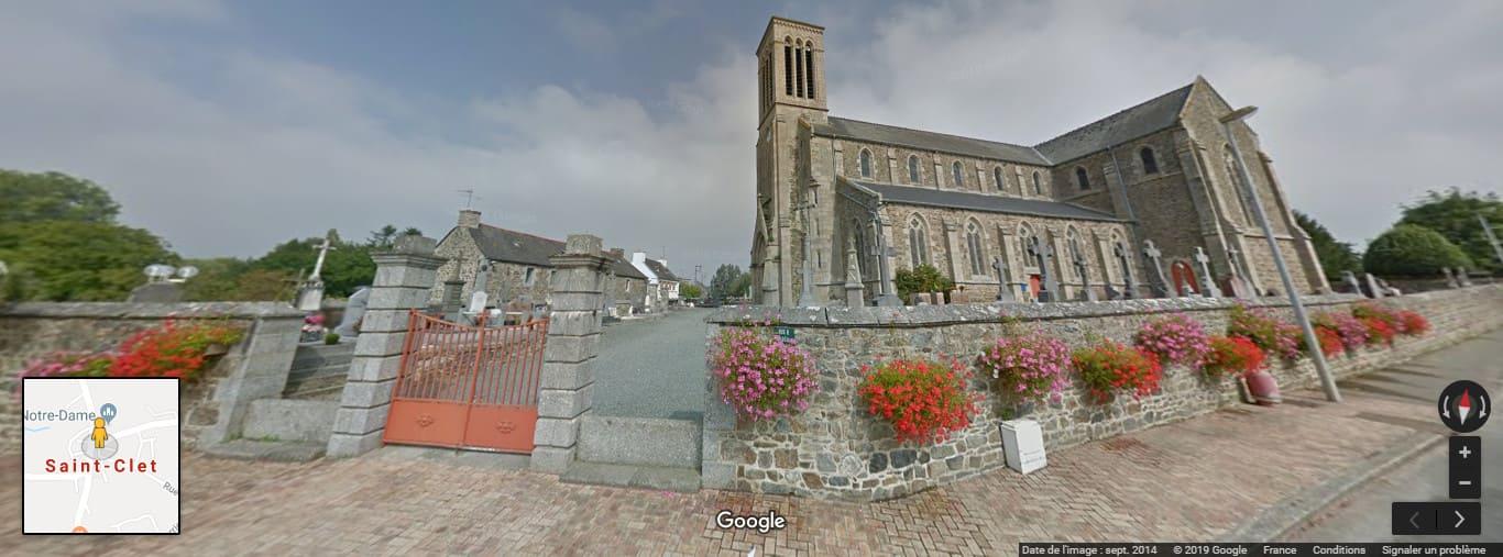 Cimetière de Saint-Clet