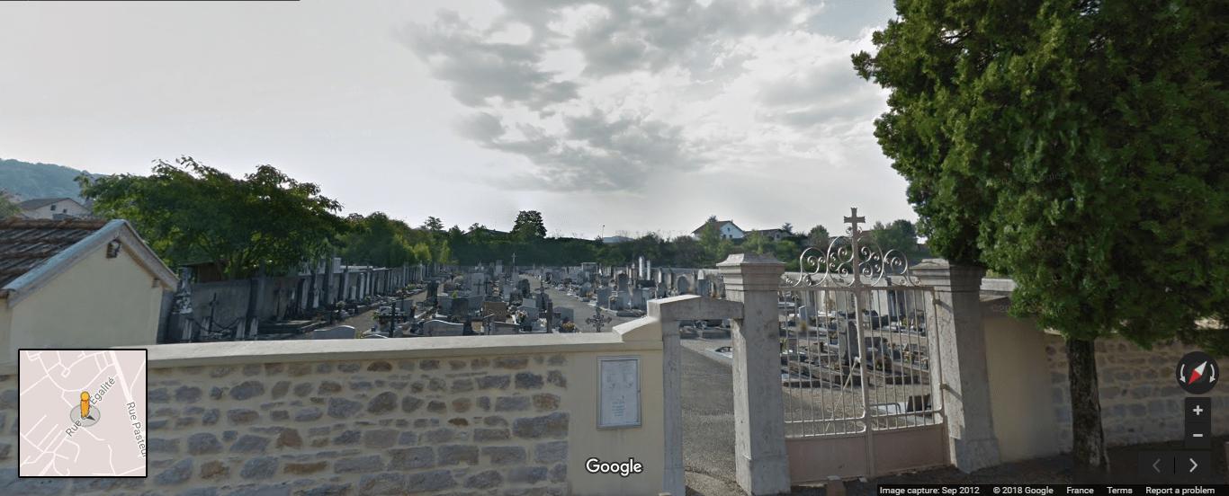Cimetière de Saint-Denis-en-Bugey