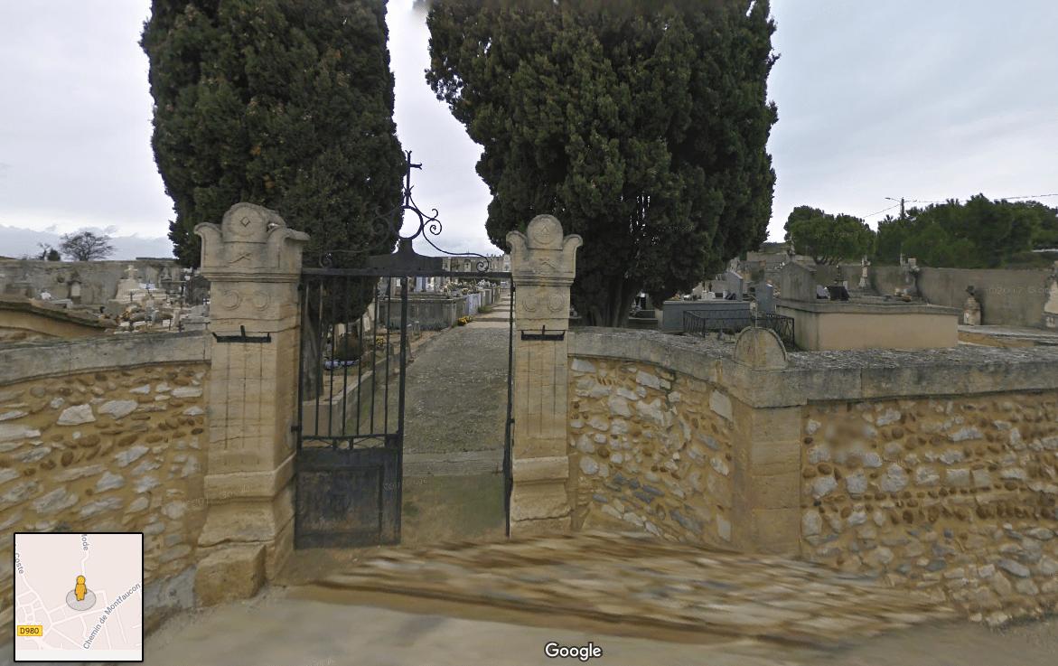 cimetière de Saint-Geniès-de-Comolas