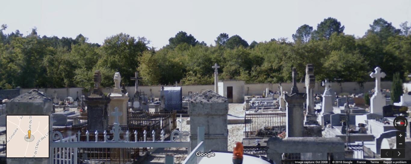 Cimetière de Saint-Morillon