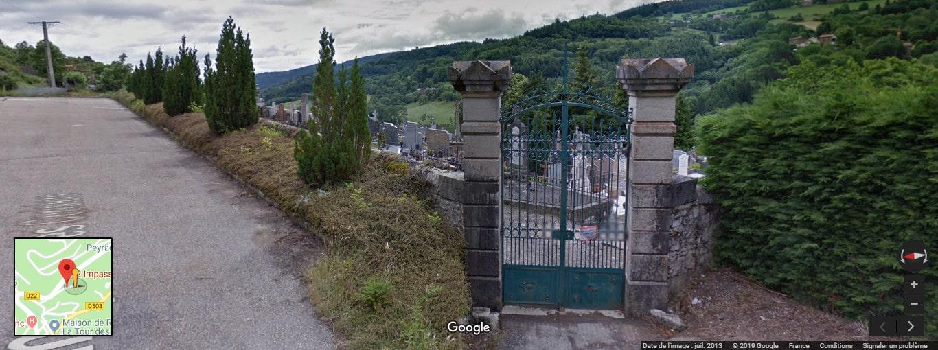 Cimetière de Saint-Sauveur-en-Rue