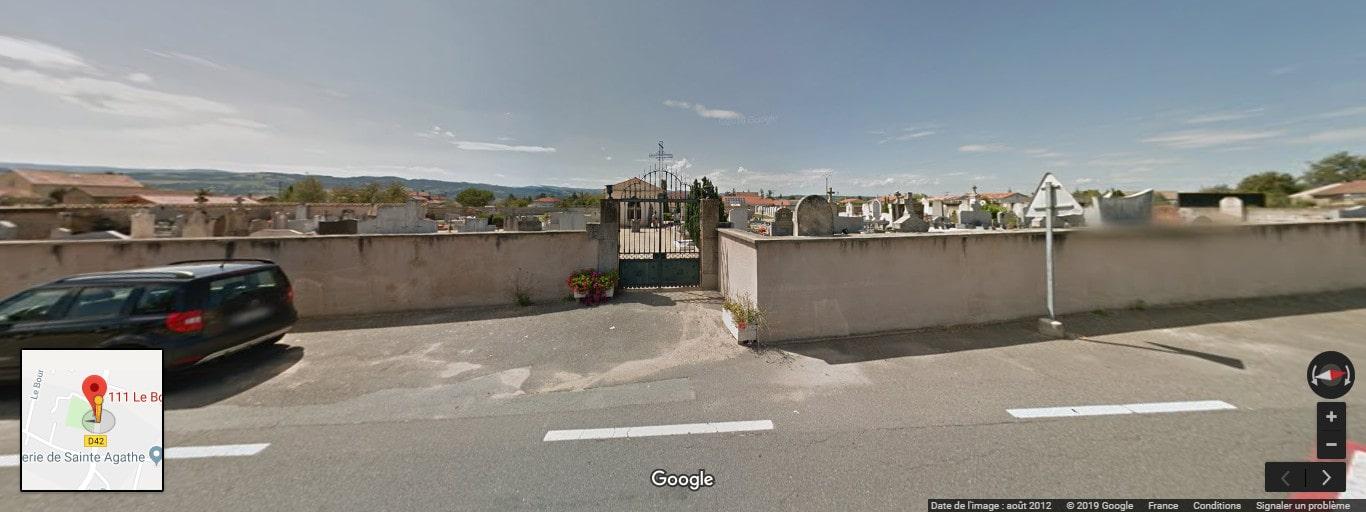 Cimetière de Sainte-Agathe-la-Bouteresse