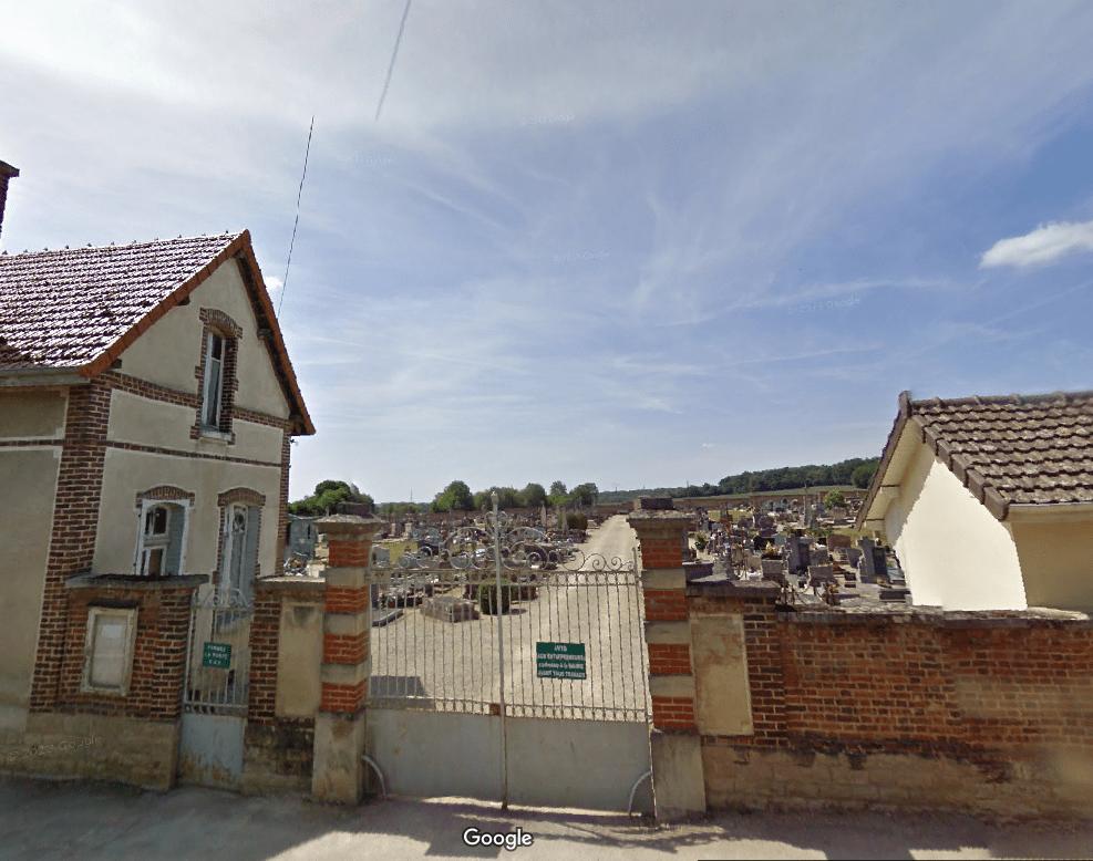 cimetière communal de Vendeuvre-sur-Barse