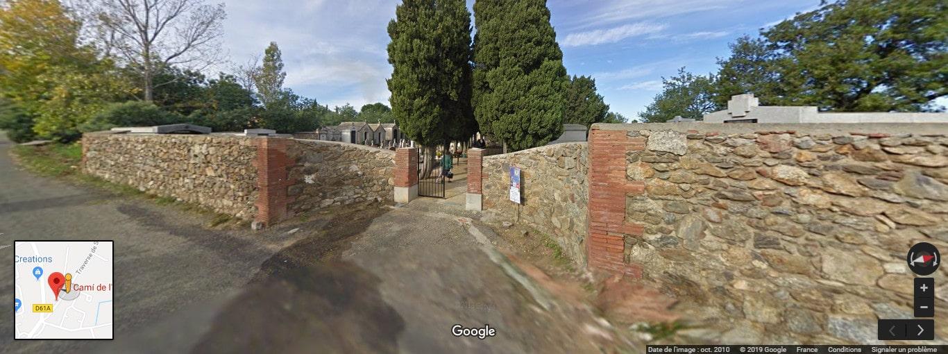 cimetière de Villelongue-dels-Monts