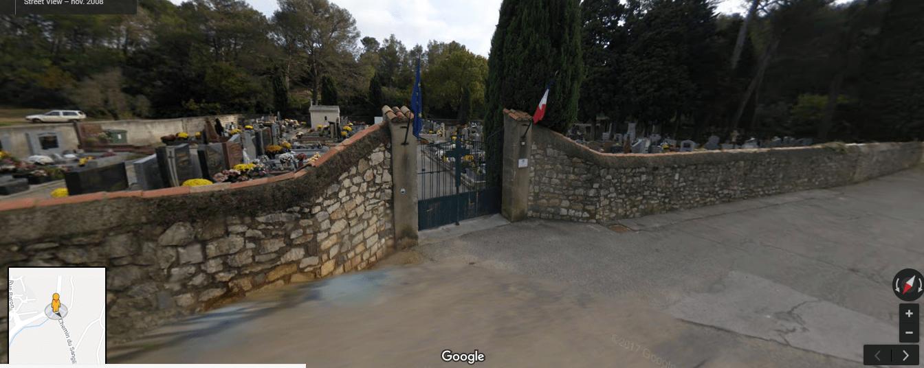 cimetière de courbessac