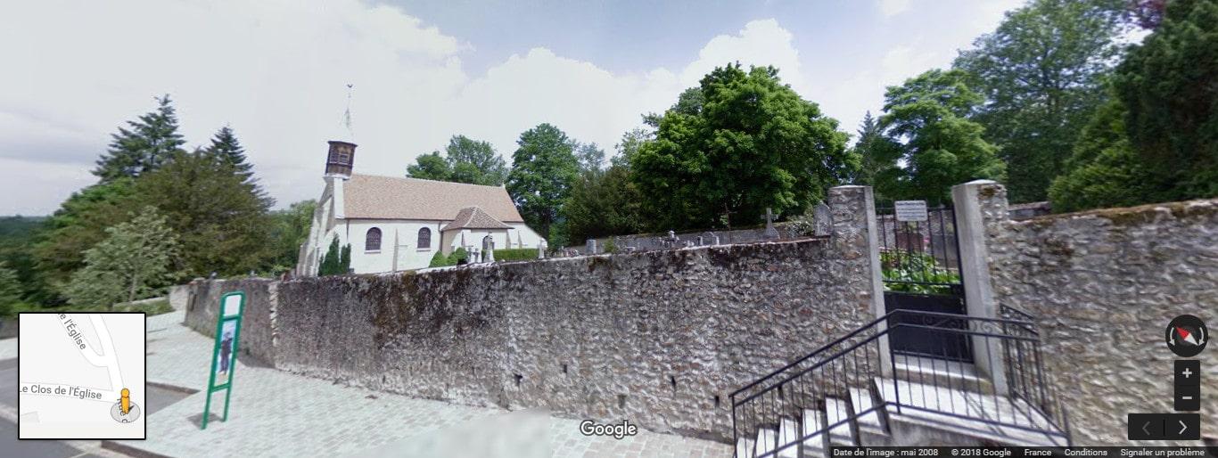 Cimetière du Coudray-Montceaux