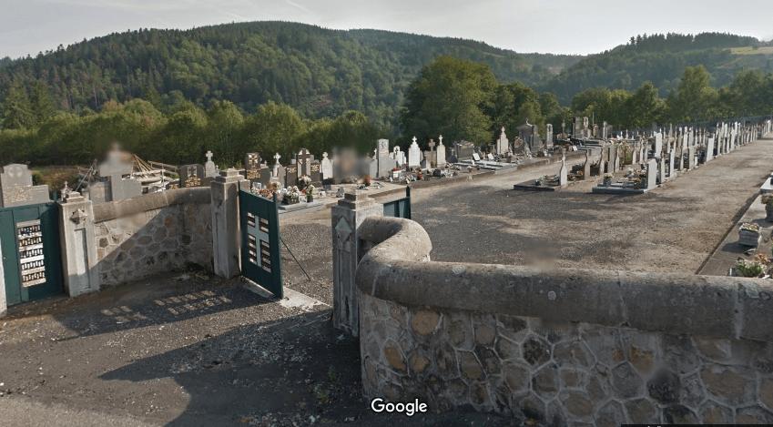 cimetière de Dunière