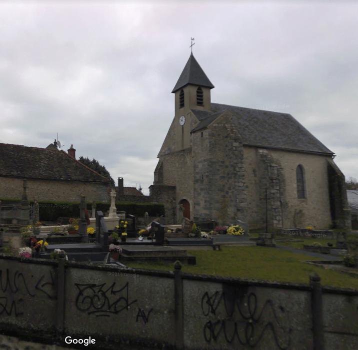 cimetière de Etrechy