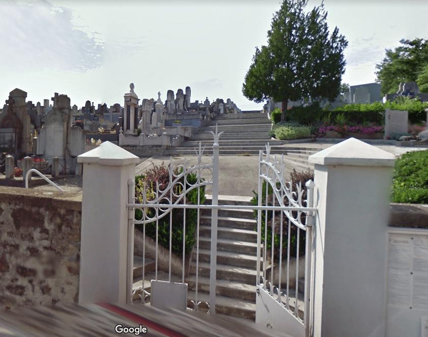 cimetière de Saint Genest leprt
