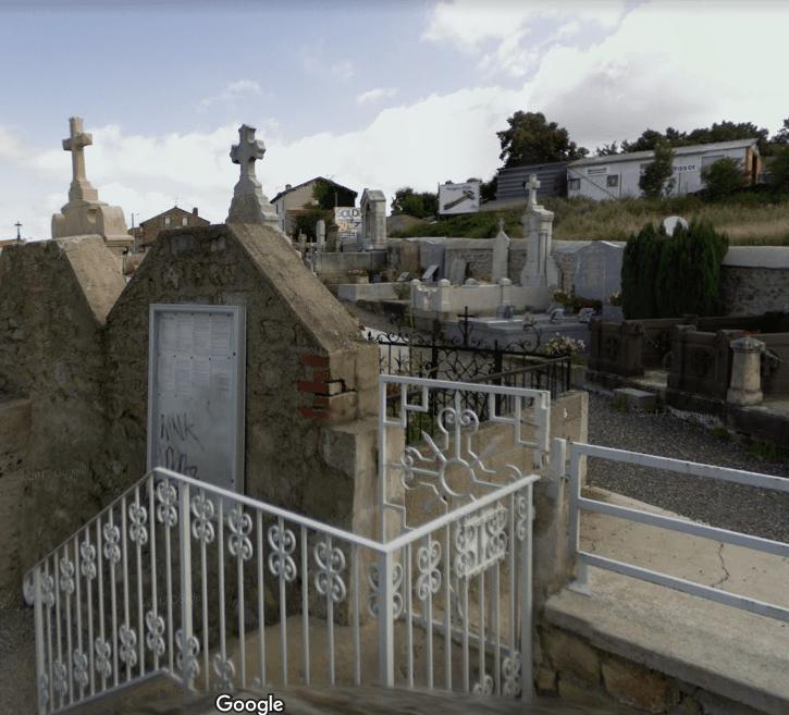 cimetière de Saint Genest lerpt