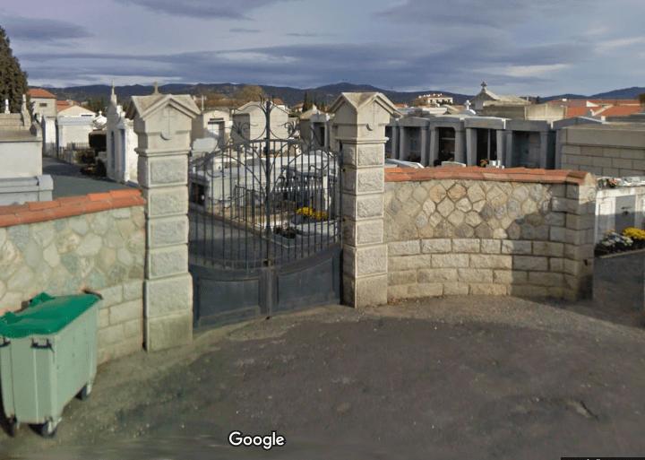 cimetière de Ille sur tet