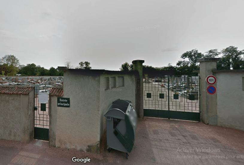 cimetière de Lapalisse