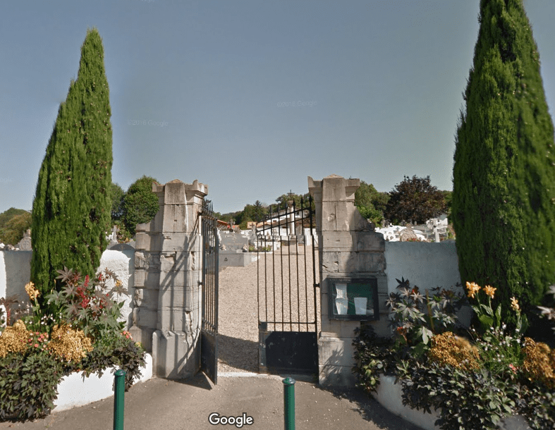 cimetière de Saint Pée sur nivelle