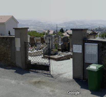 cimetière deSaint-Martin-la-Plaine