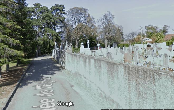 cimetière Saint bonnet de mure