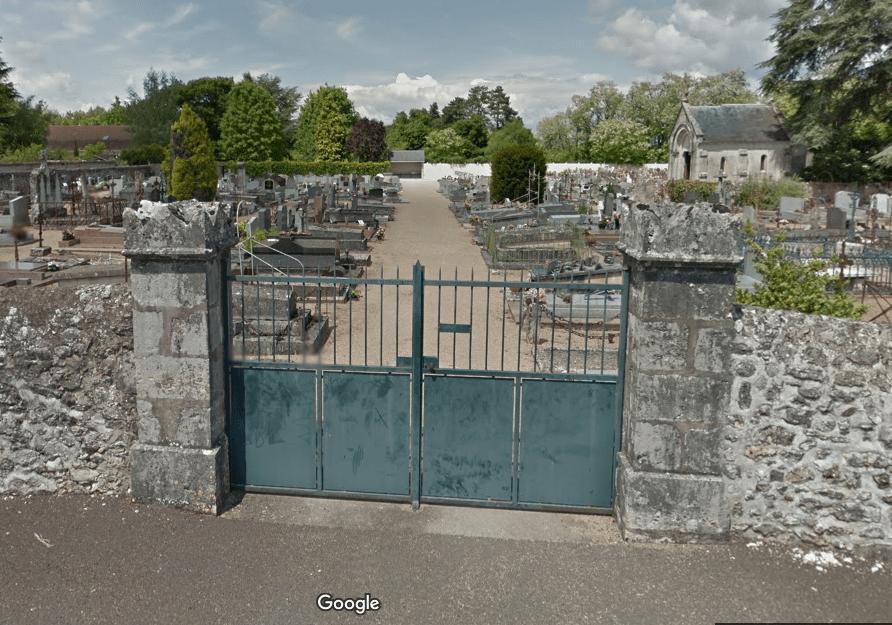 cimetière de Saint Gervais la foret