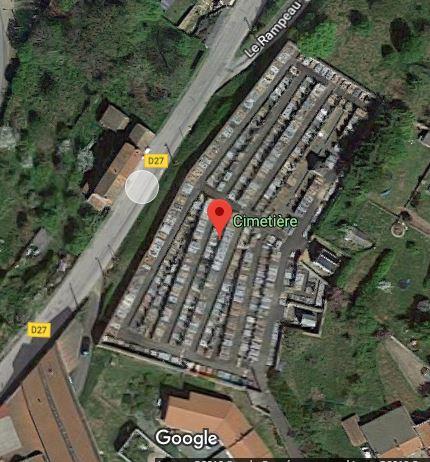 Photos du cimetière de Bussières  sur 5381A Rue Calmette