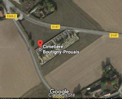Photos du cimetière de Boutigny-Prouais